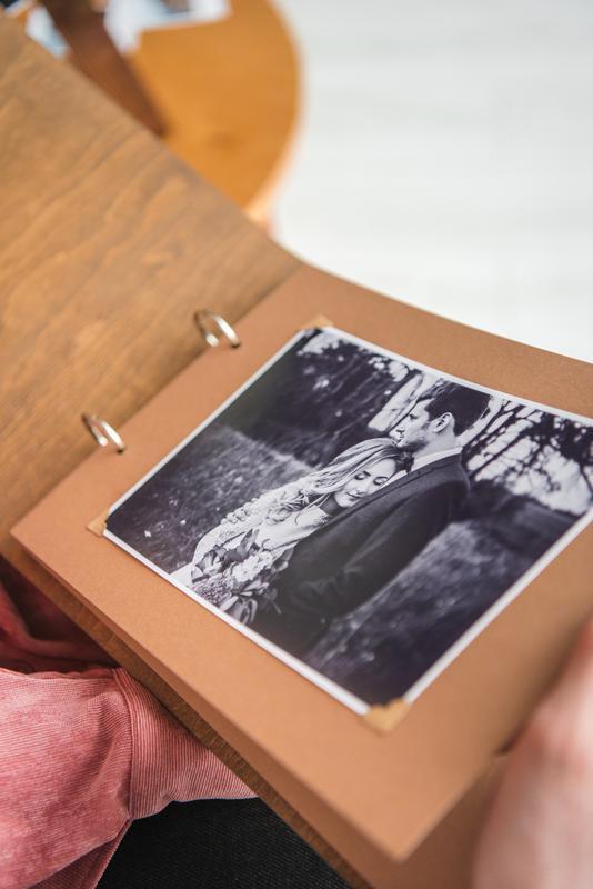 """Свадебный фотоальбом / Свадебная гостевая книга """"Spring"""""""