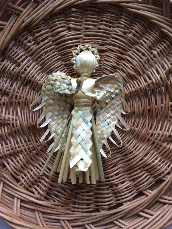 Ангел из соломы