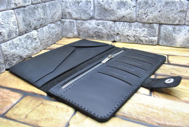 Большой кошелек из натуральной кожи K28-0