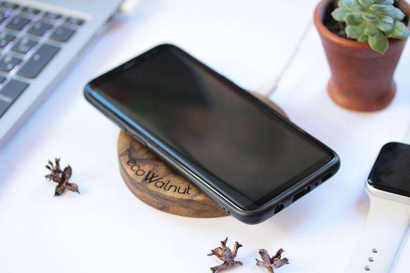 Быстрая Беспроводная Док Станция Из Дерева Для Телефона Персонализированный Подарок Парню Девушке