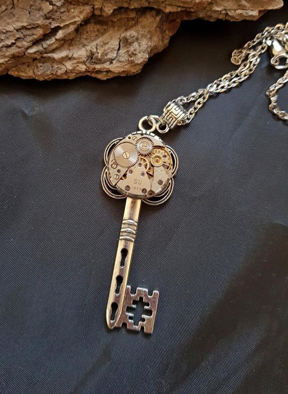 Кулон Ключ в стиле Steampunk стимпанк
