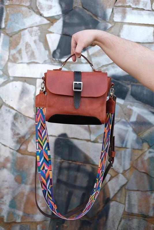 Женская кожаная сумочка Марта
