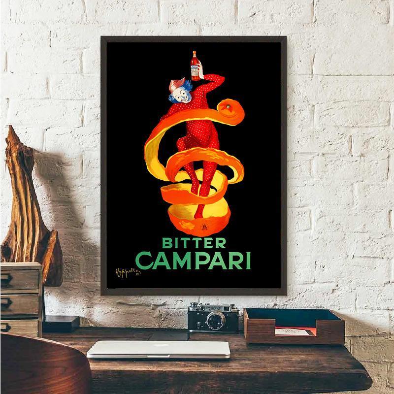 Ретро постер Bitter Campati