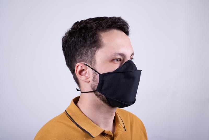 Багаторазова маска для особи з 100% бавовни від майстерні Hidemont