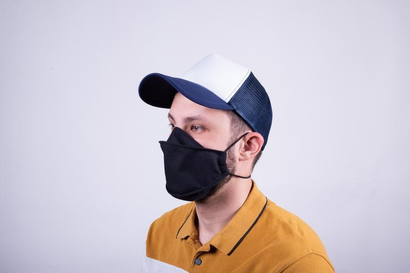 Многоразовая маска для лица из 100% хлопка от мастерской Hidemont