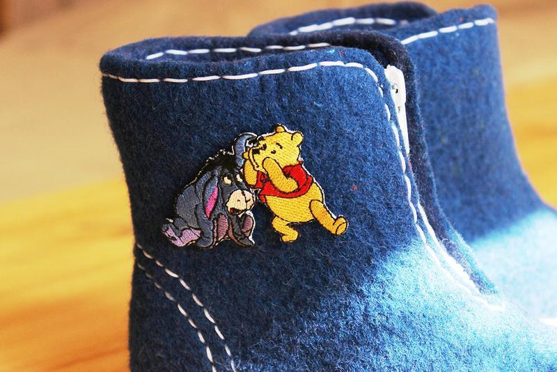 """Дитячі повстяні черевики """"Вінні Пух"""""""