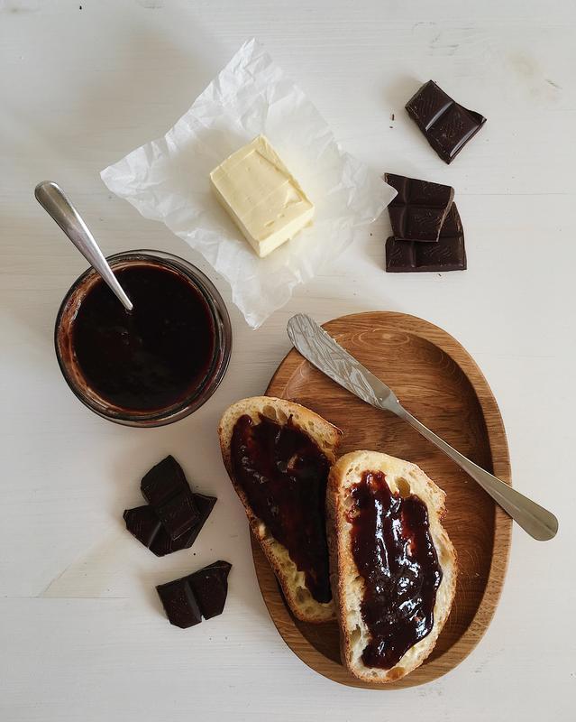Сливовое варенье с шоколадом, 235 г