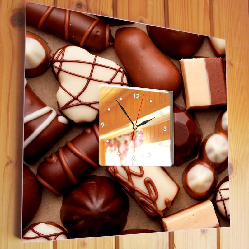 """Эксклюзивные часы для сладкоежек """"Шоколадные конфеты"""""""