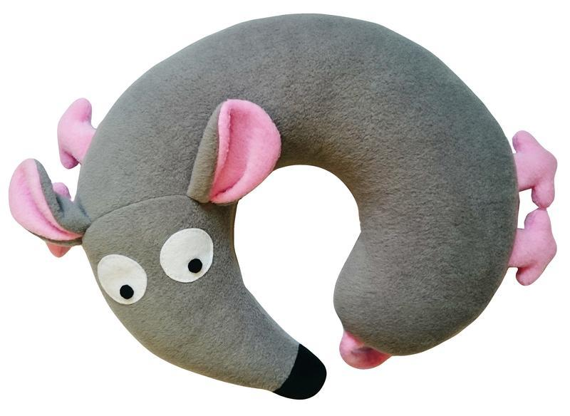 Подушка-подголовник туристическая под шею Silenta Мышка