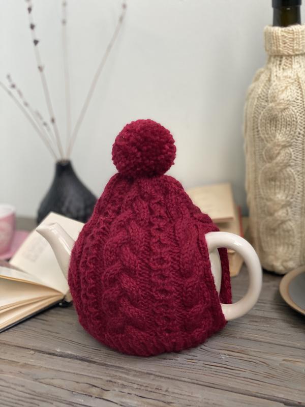 Грілка на чайник заварник, В'язаний декор для дому