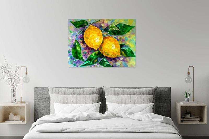 """Картина маслом """"Солнечные лимоны""""  60х80 см живопись маслом"""
