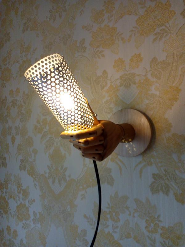 Креативные оригинальные светильники, бра в стиле LOFT.
