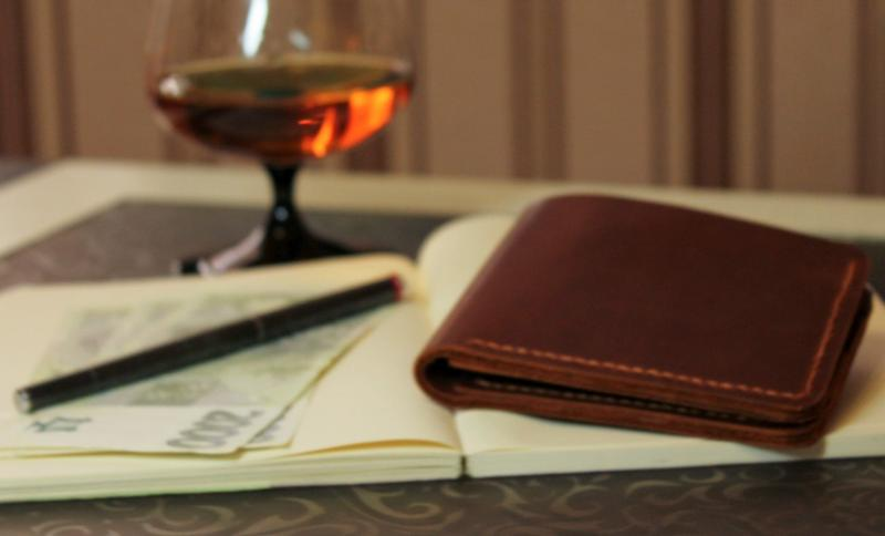 Шкіряний гаманець