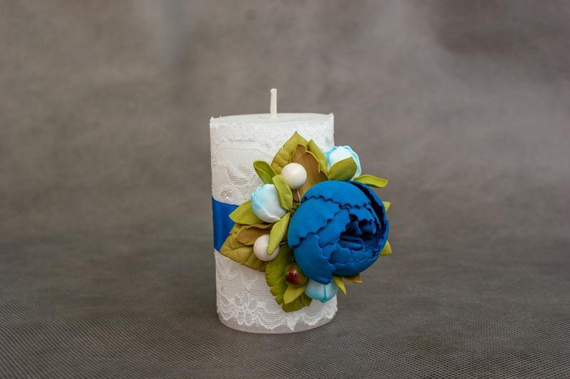 Свадебная свеча арт 7011