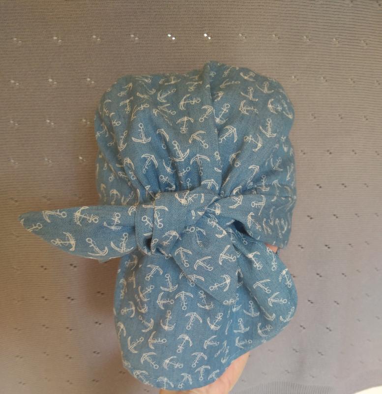 Кепка-бандана для мальчика с защитой шеи