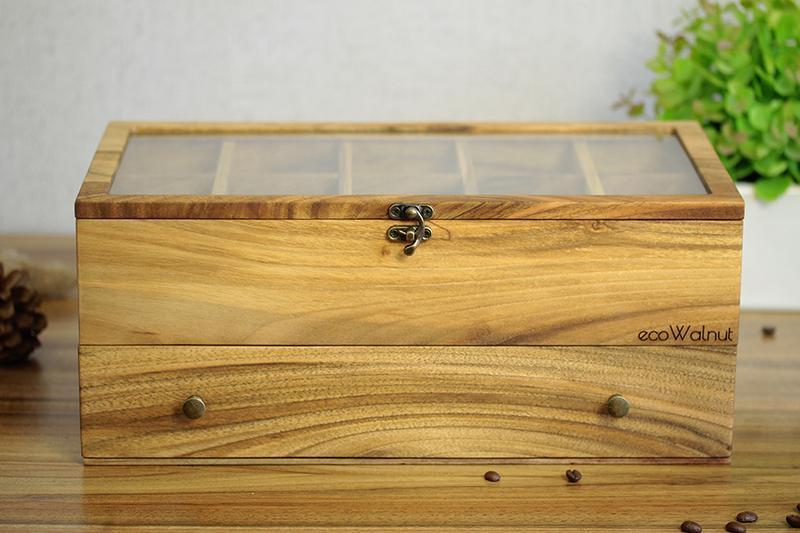 Шкатулка Из Древесины Ореха для  Часов Персонализированный Подарок На Годовщину Парню Мужу