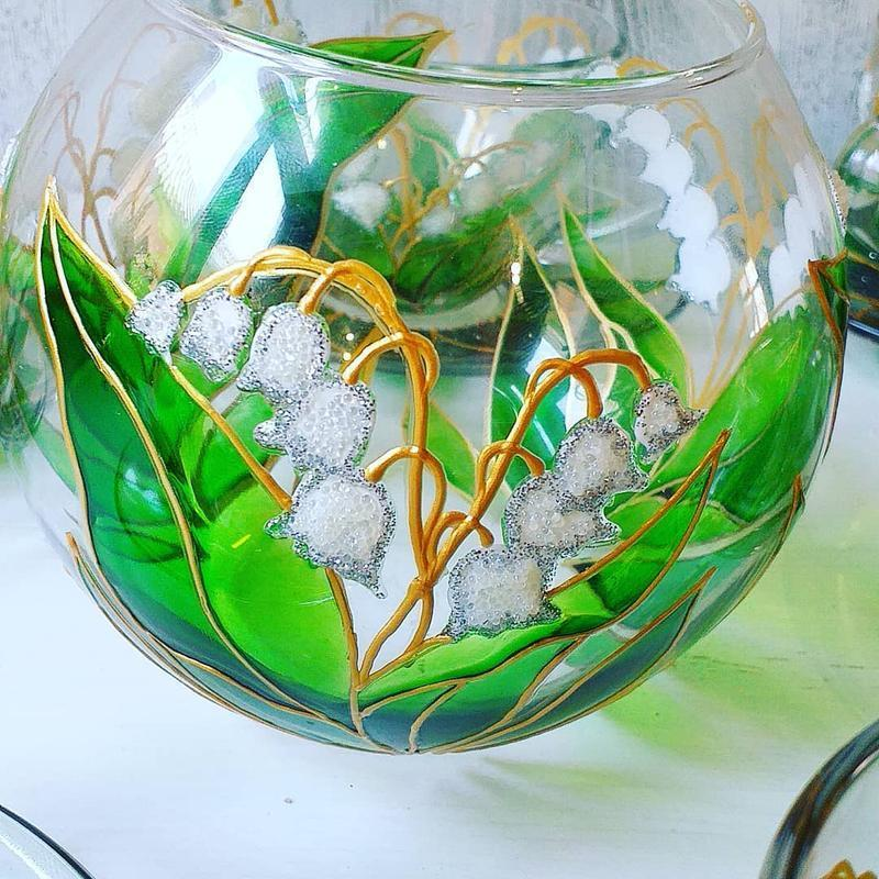 Подарочный чайный набор Ландыши