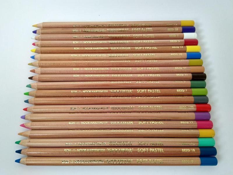 Пастель в карандаше