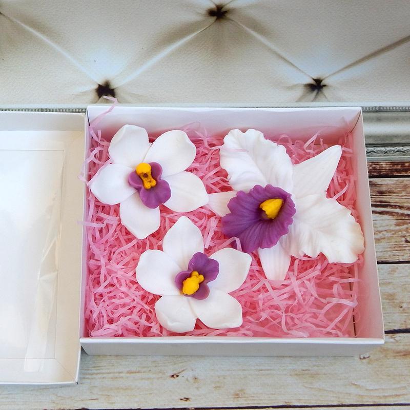 Цветы из мыла - подарочный набор