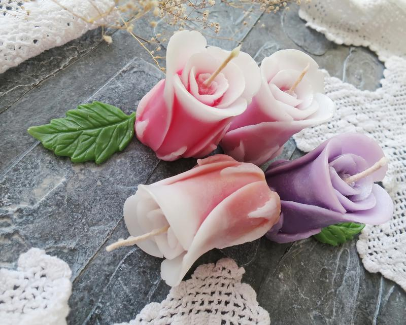 Купить свечу бутон розы доставка цветов в хаифе