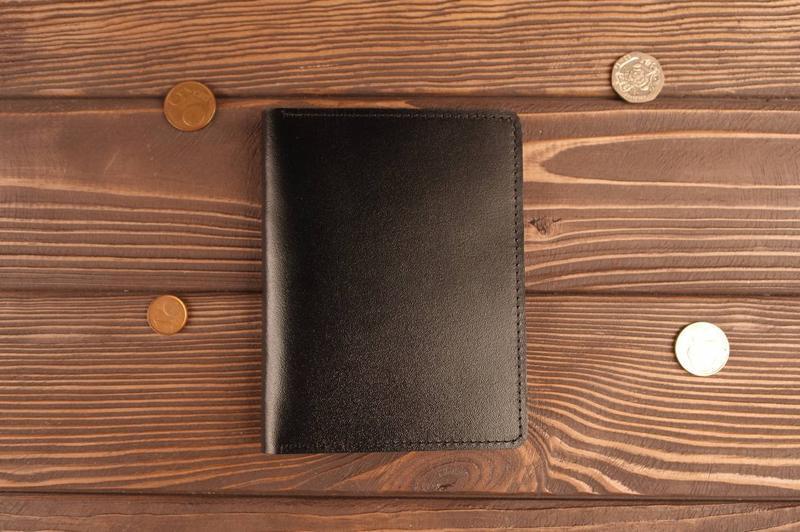 Обложка для документов автодокументов прав старого образца (черный)