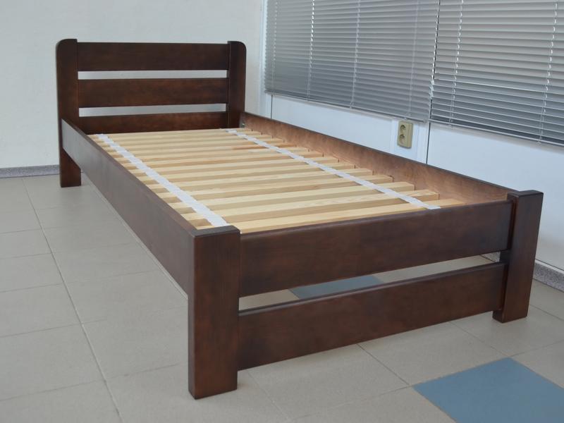 Кровать Односпальная Деревянная 90х200 Престиж Массив Сосны