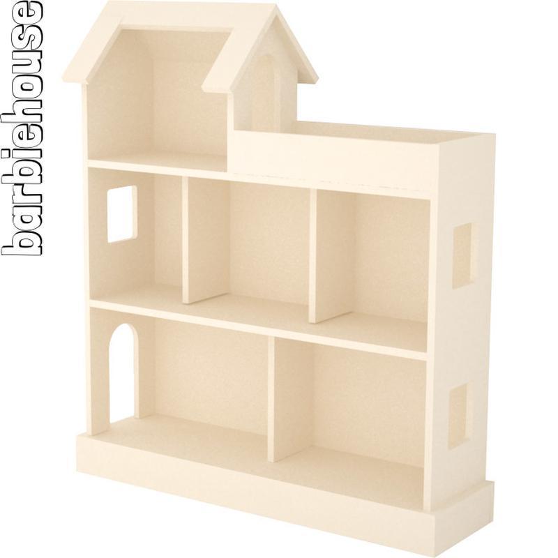 Большой дом-особняк для кукол