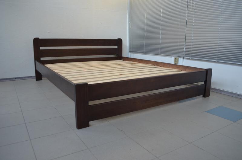 Кровать Деревянная Рич 140х200см. Двуспальная Кровать