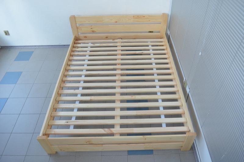 Кровать Деревянная Рич 180х200 Двуспальная Кровать цвет Лак