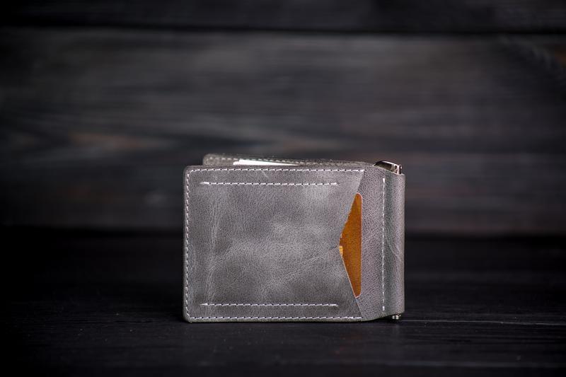 Зажим для купюр / Coin / Серый