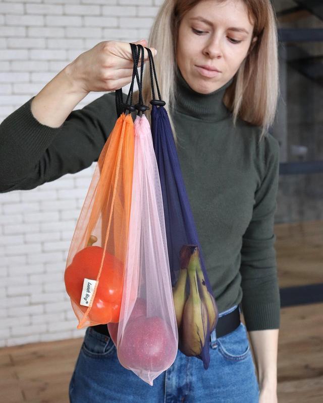 Мешочек сеточка для покупок