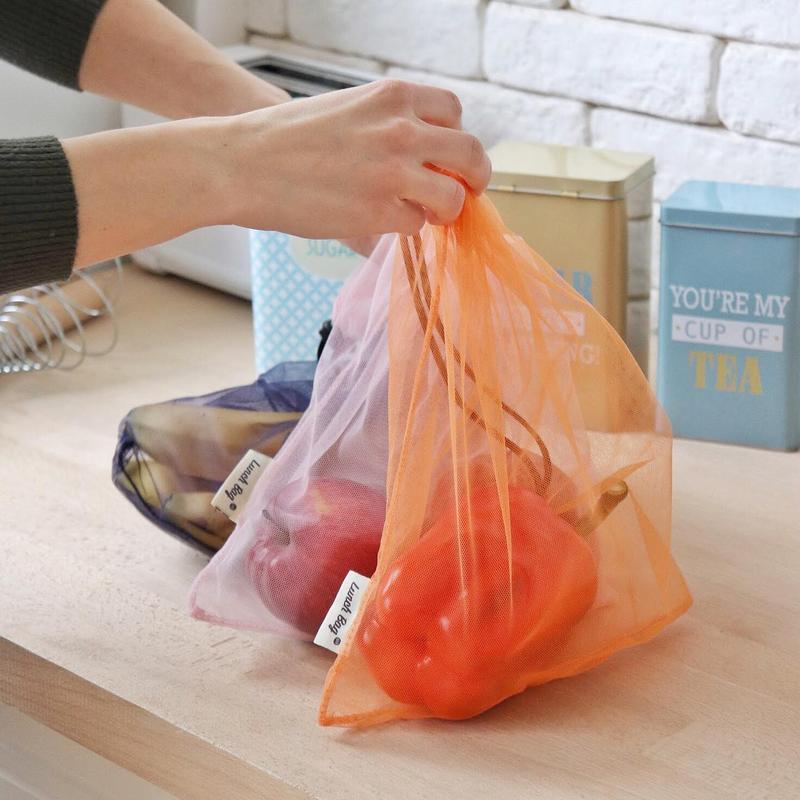 Мешочки дл покупок сеточки для фруктов на овощей