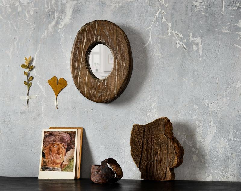зеркало «albo-brunneis»