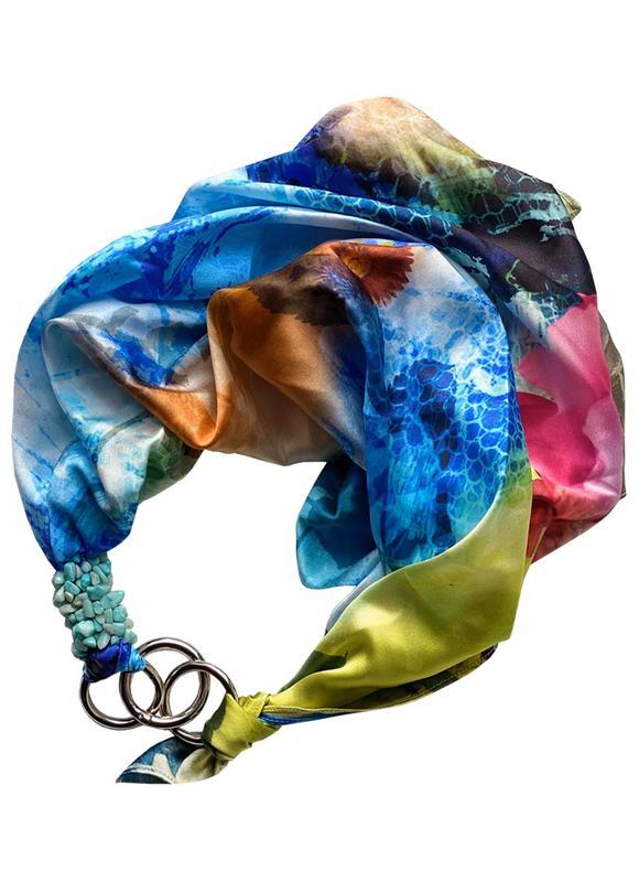 100% Шелк , платок my scarf, шейный платок, подарок женщине
