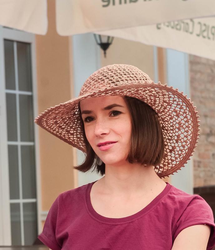 Пляжная хлопковая шляпа женская, кружевная солнечная шляпа, красивая летняя панама
