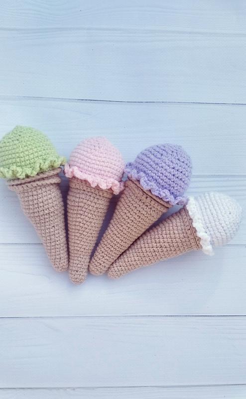 Набор мороженого(4 шт) Игрушка мороженое мороженое Игрушка