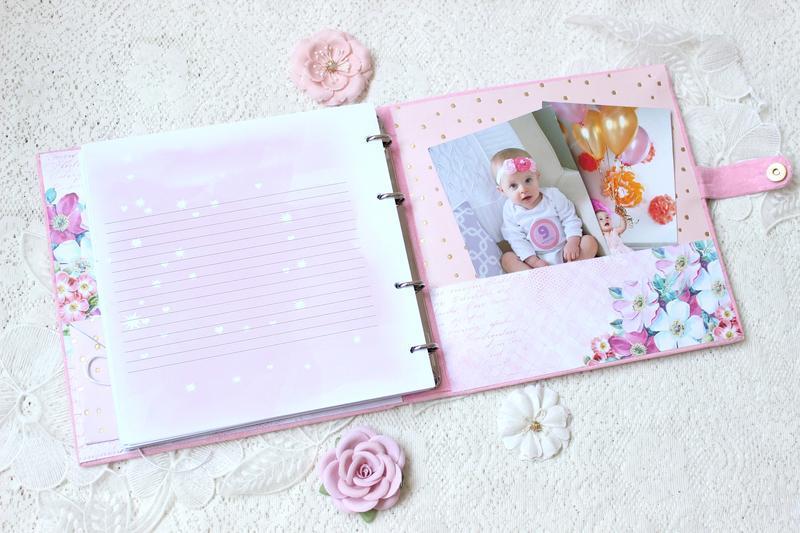 Альбом для дівчинки , бебибук для дівчинки , мамин щоденник , подарунок новонародженої