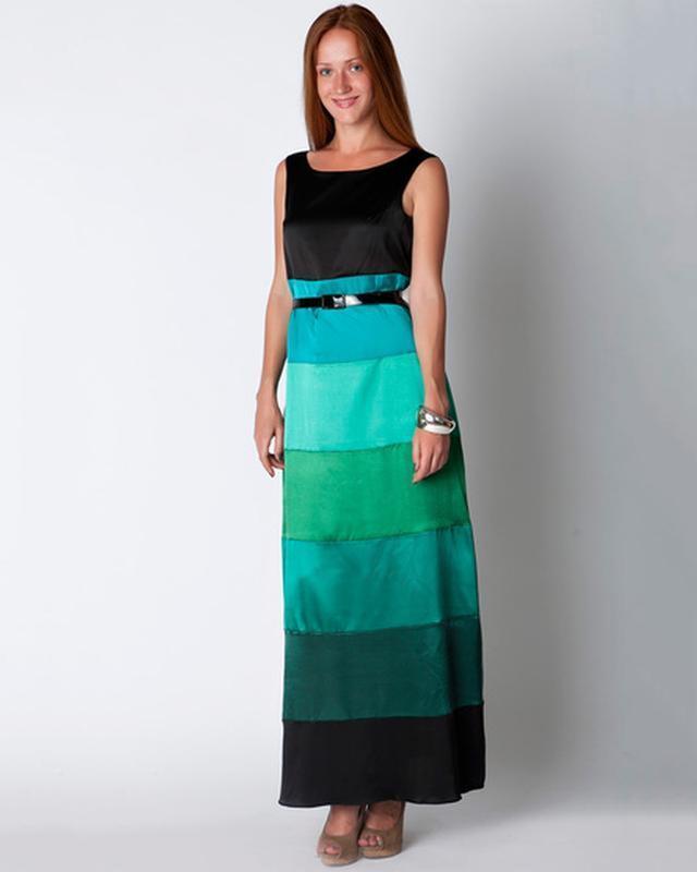 Шелковое платье длинное в пол от N. Verich