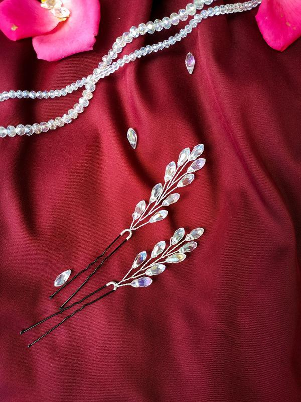 Шпильки у зачіску, шпилька в прическу, украшение для невесты