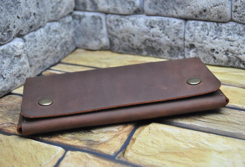 Чехол для смартфона из натуральной кожи H18-210