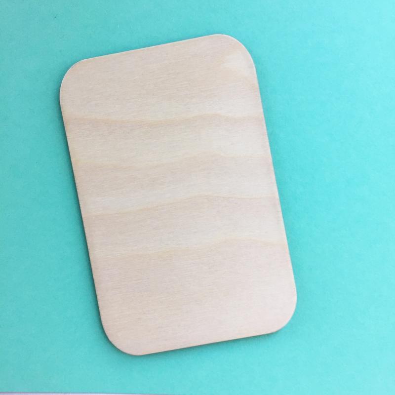 Заготовки из дерева для открыток, пригласительных