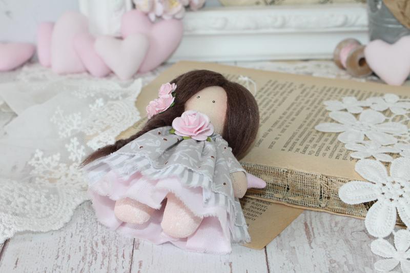 Текстильный ангел.