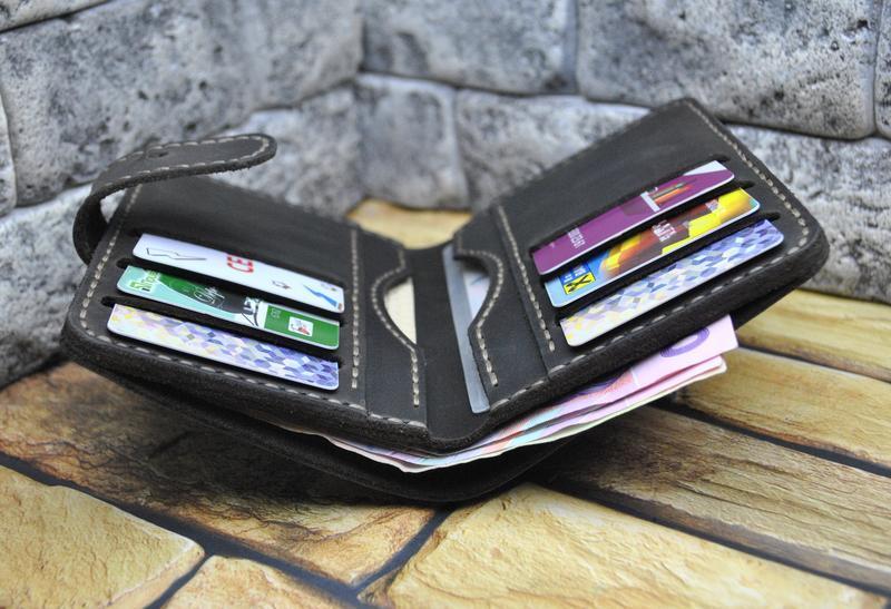 Вертикальный кошелек из натуральной кожи K62-450+light brown