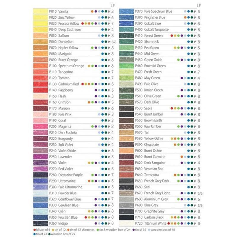 Карандаш пастельный DERWENT Pastel Pencils мягкий для проф. D-2300***_желтый цинк (P020)