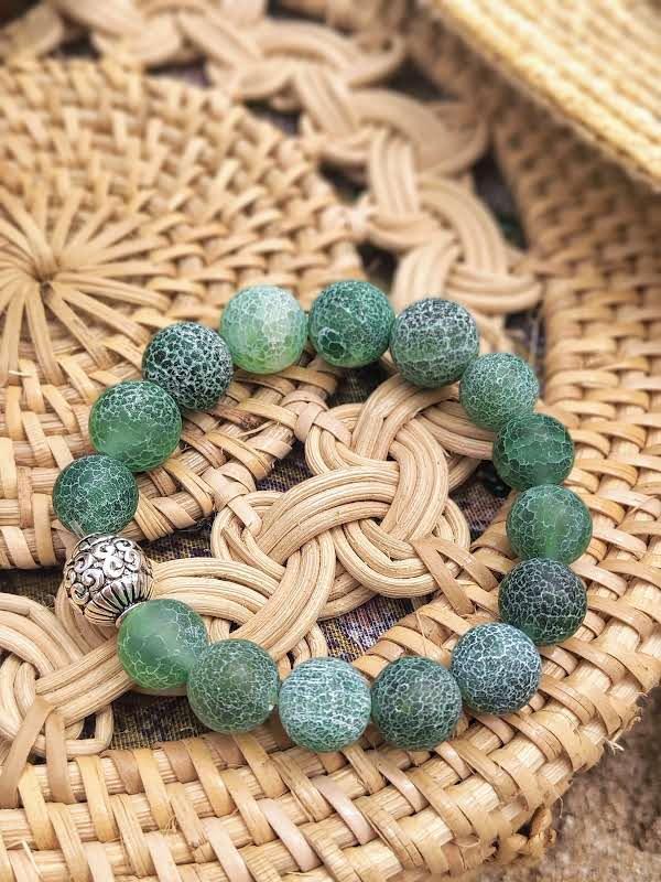 Браслет из натуральных камней, браслет из агата, браслет на подарок, браслет оберег