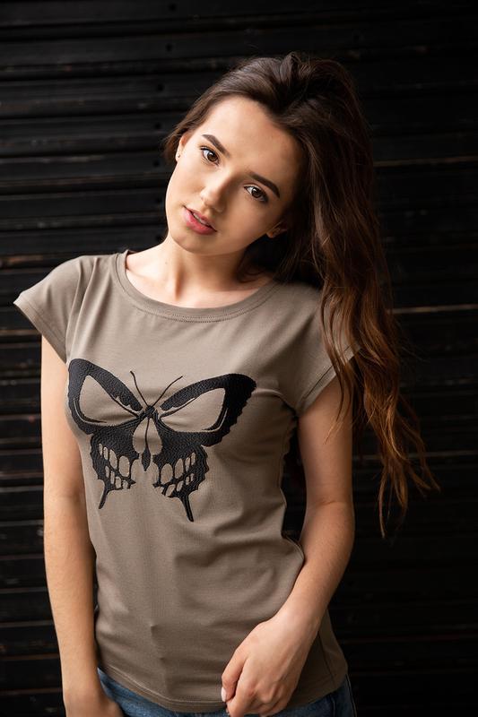 Футболка женская «бабочка» batiar