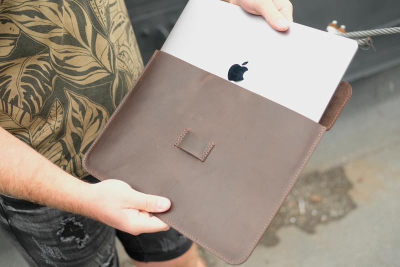 Кожаный чехол для MacBook Air 13, MacBook Pro 13, MacBook Pro 15, Кожаный чехол для любой модели