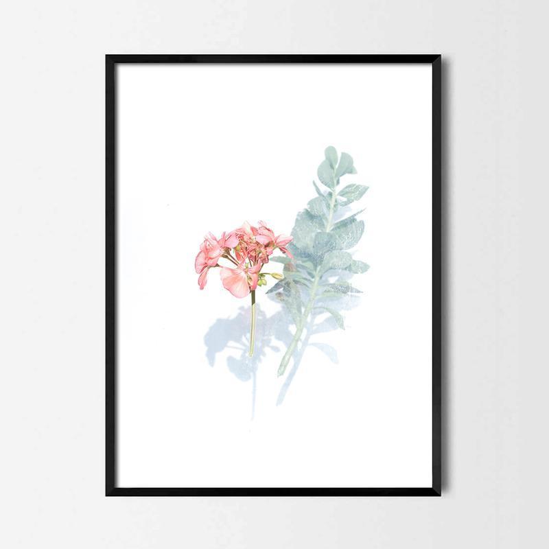 Фотопостер Акварельные цветы №3