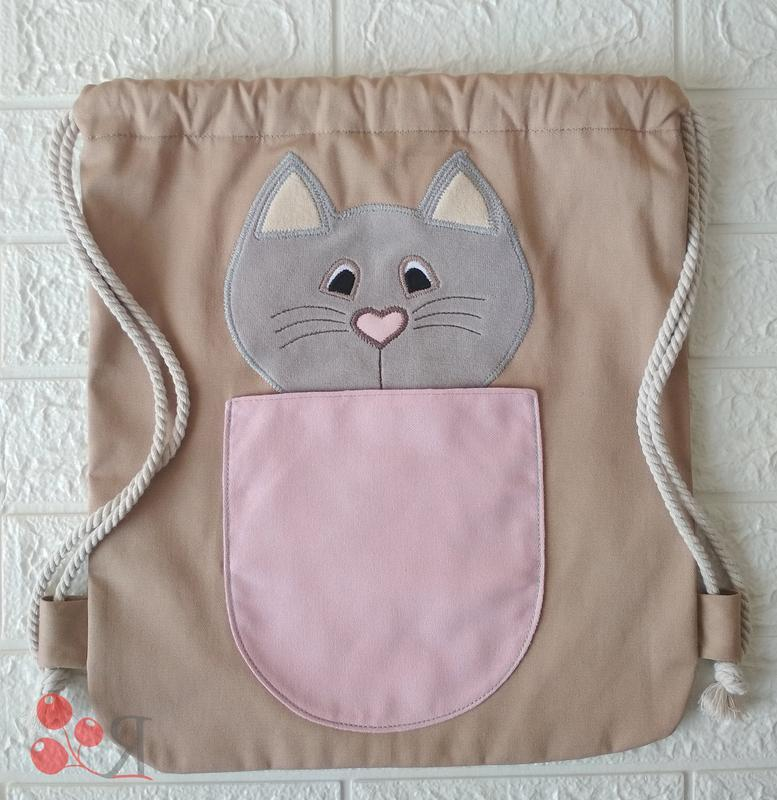 Рюкзак з котиком