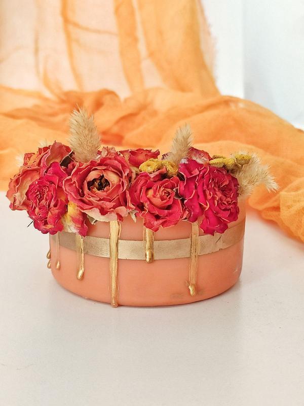 Набор свечей и марлевый раннер для сервировки стола, пикника, свадьбы
